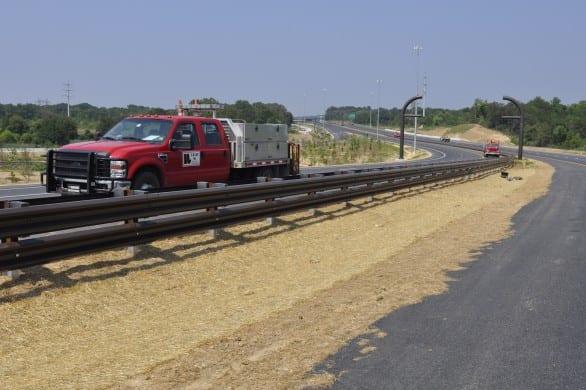 commercial guardrail installation