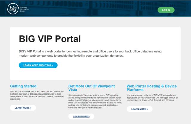 Viewpoint Web Portal